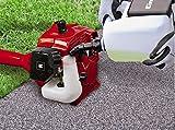 Einhell Benzin Sense GC-BC 25 AS (0,8 kW, vibrationsarmer 2-Takt Motor, Quick Start, inkl. 3-Zahn-Messer und Doppelfadenspule mit Tippautomatik)